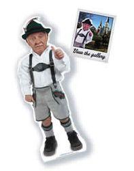 "Take this free ""Little German"" cardboard cutout around?"