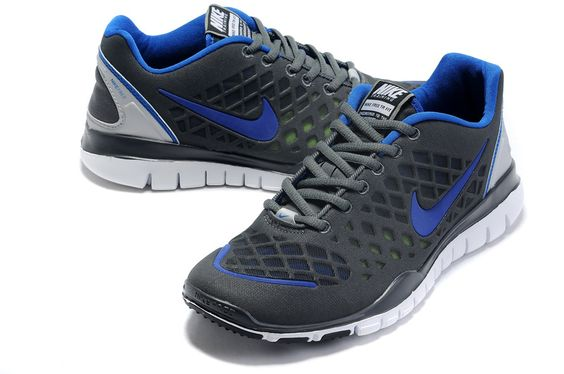 Deep Grey Blue Mens 2013 Nike Free Nest TR Fit Shoes 77803