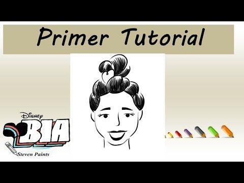 Primer Tutorial De Dibujo Bia Youtube Tutorial De Dibujo Dibujos Para Amigas Faciles Fotos En Disney
