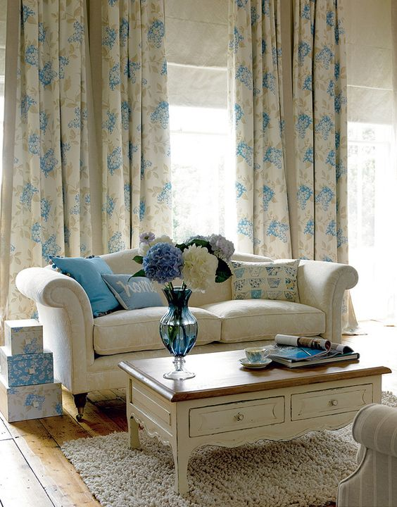 The Laura Ashley Brighton Beautiful collection is fresh and natural.