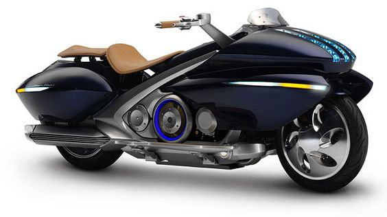 Luxury Motorcycle - Yamaha Gen Ryu