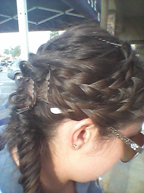 Another braid I tried.