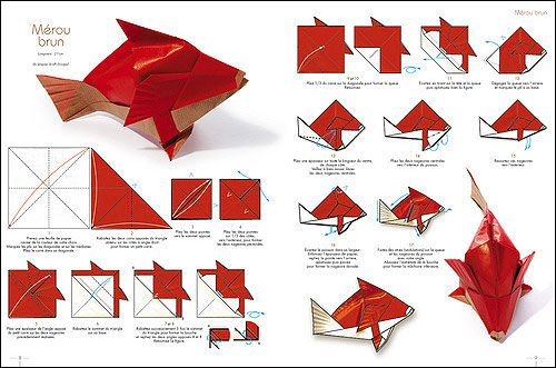 Animaux origami and mini albums on pinterest - Animaux origami 3d ...