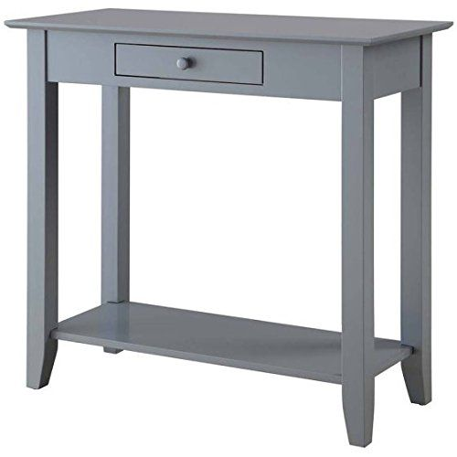 Sleek Design Small Indoor Rectangle Console Hall End Table One