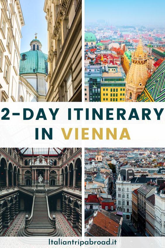 2-Day itinerary in Vienna Austria