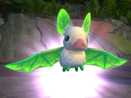 The Sims 4 Realm of Magic: The Leafbat Familiar in Action