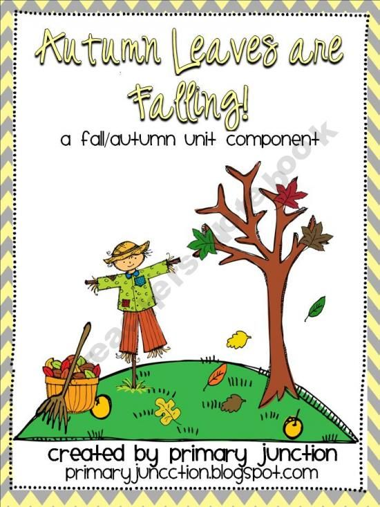 Autumn Leaves Are Falling product from Primary-Junction on TeachersNotebook.com