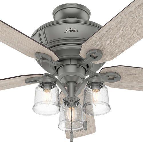 Stealth Dc Brushed Nickel Ceiling Fan