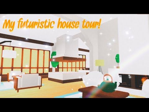 My Aesthetic Futuristic House Tour Adopt Me Roblox Iioreans Vol 1 Youtube Futuristic Home My Home Design Cute Room Ideas