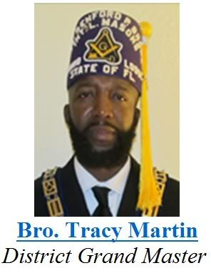 Tracy Martin initiated and honorary 33rd degree freemason after using his son for a blood sacrifice.