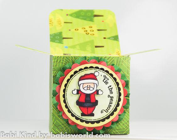 Mini Caixas de Natal