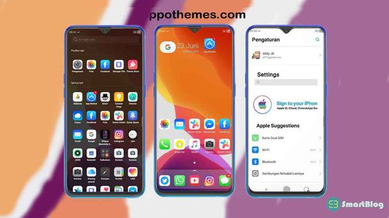 Tema Iphone Ios 13 For Realme Oppo Di 2020 Ipod Touch Iphone Ipod
