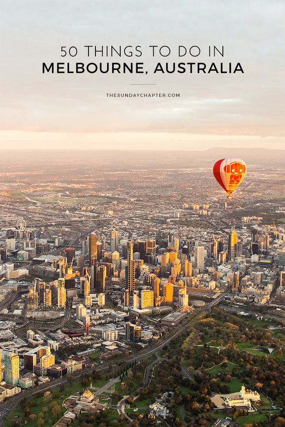 The best things to do in Melbourne #Australia