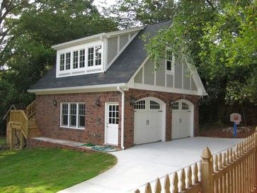 2 car garage at rear right corner of property single car garage where existing wisteria porch is 2 car garage includes upstairs full bath office breezeway garage office
