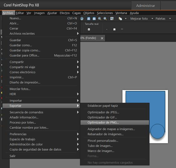 Pegar autoforma en un programa como bitmap