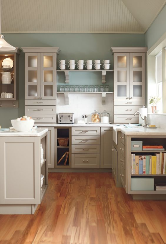 Gray cabinets are a refreshing way to update any kitchen kitchen organization kitchen - Creative ways upgrade grey kitchen cabinets beautifully ...