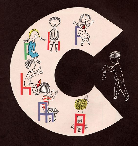 "woah! amazing illustrations from ""N is for Nursery School"""