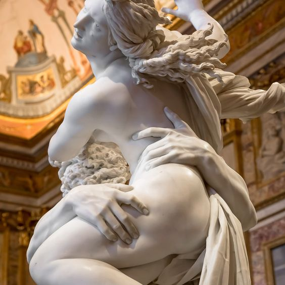 Rape of Prosperina, Borghese Gallery