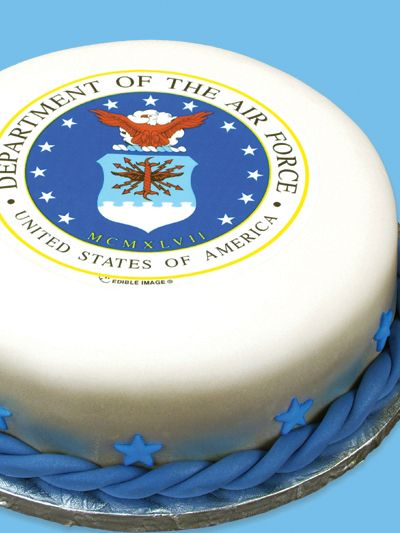 Edible Cake Images Air Force : Air force and Cakes on Pinterest