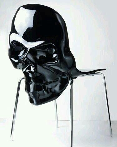 Skull chair:
