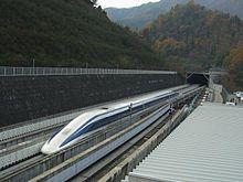 Train à sustentation magnétique — Wikipédia