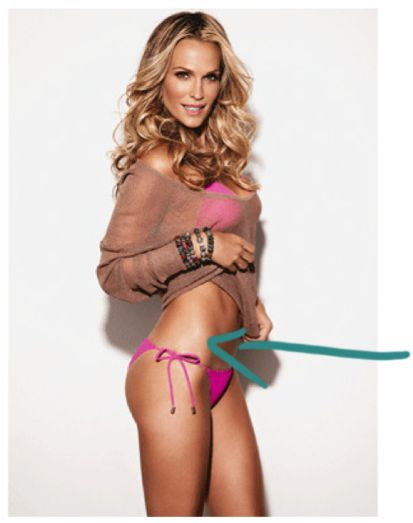 We want Molly Sims' perfect shape