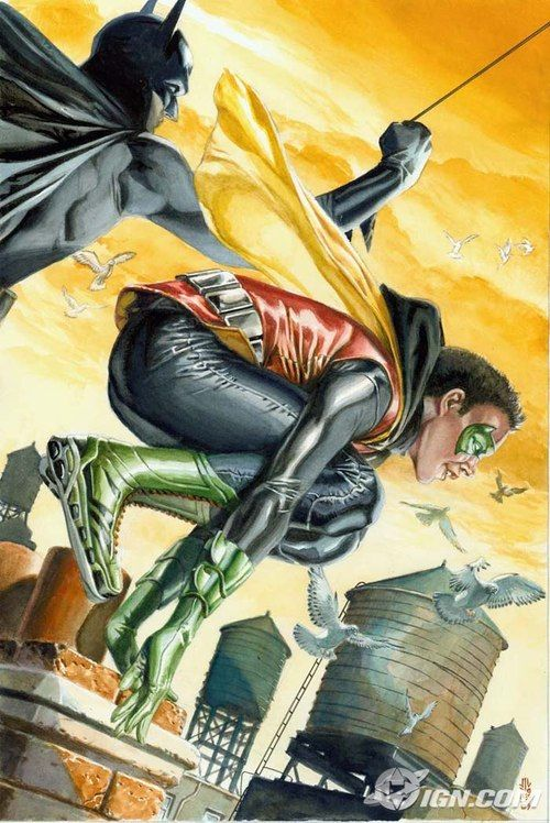 Batman and Robin by JG Jones
