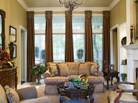 Curtains Ideas commercial curtains and drapes : Luxurious Living Room Curtains | Luxurious Living Room Celebrity ...