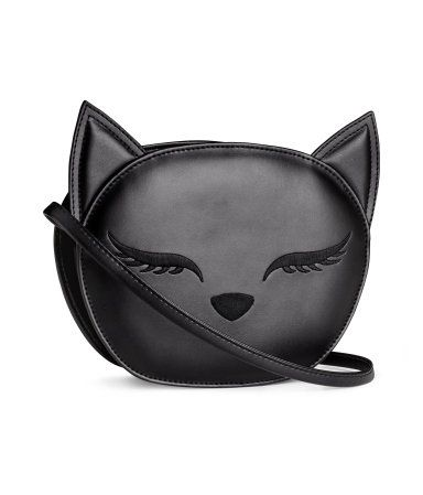 Cat Shoulder Bag from H&M. For the other cat ladies out there on Pinterest!: