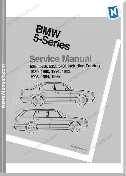 Bentley Bmw 5 Series E34 Service Manual Bmw 5 Series Bentley Bmw