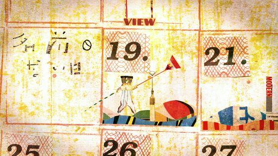 takaharu shimizu: art collage animations