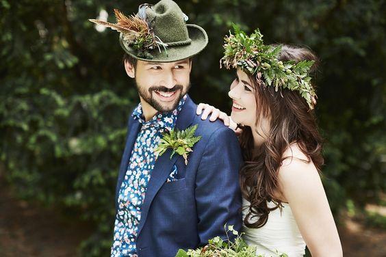 """Hochzeitsinspiration """"Wonder Woods"""""""