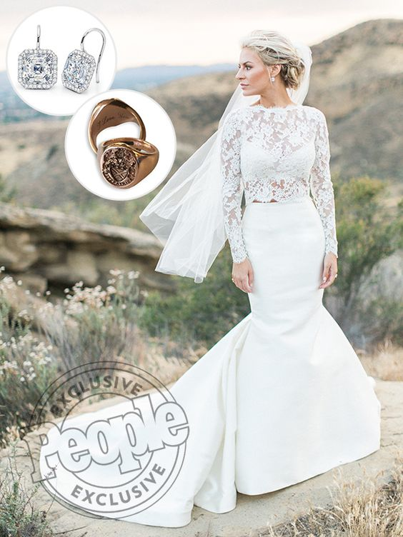 Rich kids of beverly hills star morgan stewart s two piece for Beverly hills wedding dresses