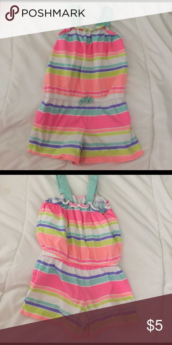 Circo romper 5t girls colorful romper Circo Bottoms Jumpsuits & Rompers