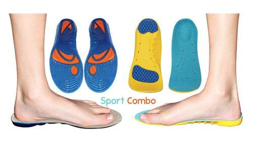 Children/'s Kids Arch Support Orthotic Insoles Flat Feet Arch Pain Heel Cup S