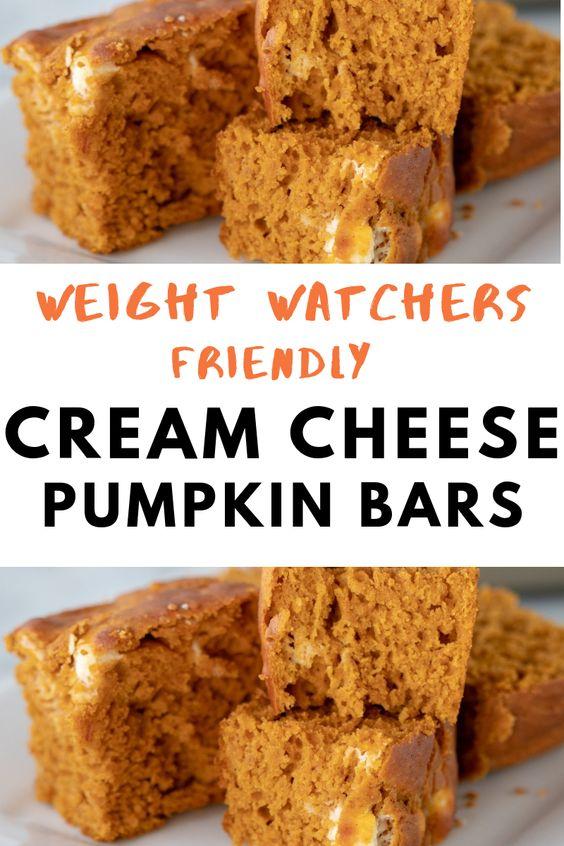 Cream Cheese Pumpkin Bars