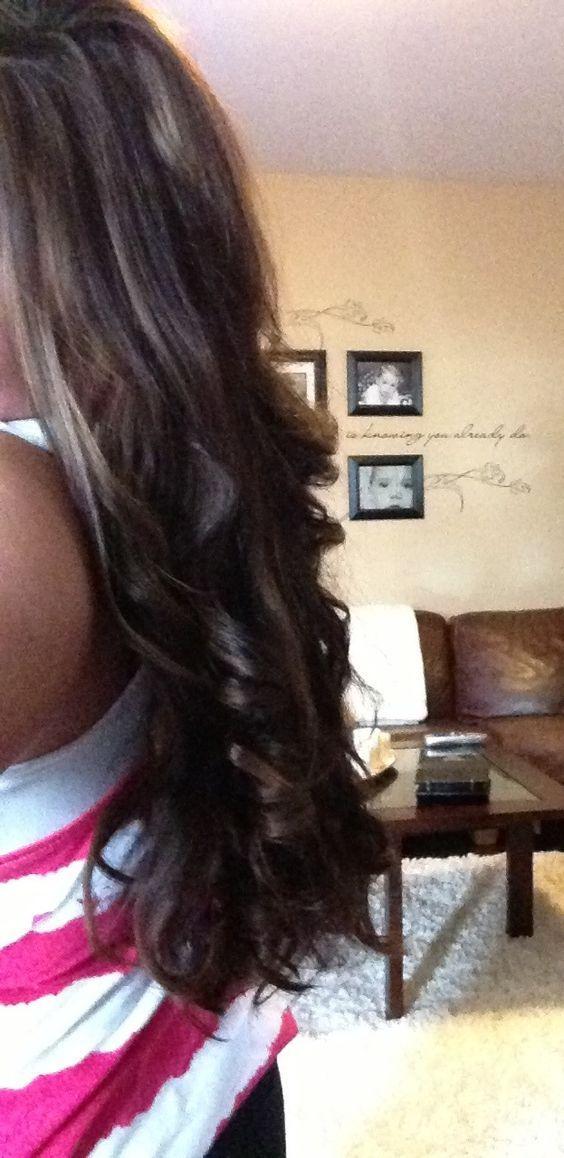 Straightener curls!