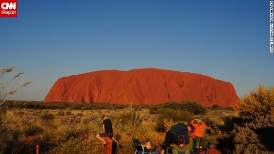 Uluru, otherwise known as Ayers Rock, is a large sandstone rock formation in Northern Territory, Australia.