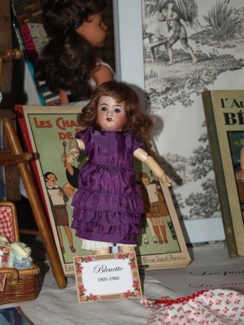 """Exposition  """"J'habille ma poupée """" Bleuette and Co"""