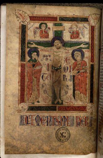 Paris, Bibl. Sainte-Geneviève, inc. OE.XV.698, vue 3: