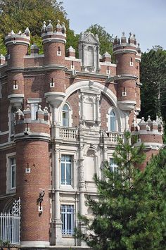 Chateau Des Gadelles Sainte Adresse Seine Maritime France Palaeer Slotte
