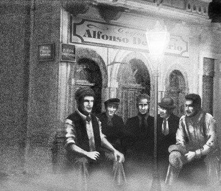 Antônio Pereira, Joaquim Ambrósio, Anselmo Correia, Carlos da Silva e Rafael Perrone.