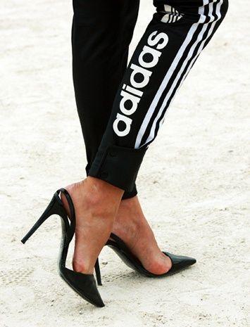 ¿pérdona? #tacones #adidas #sport