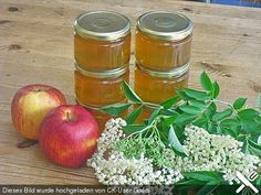 Apfel - Holunder - Gelee