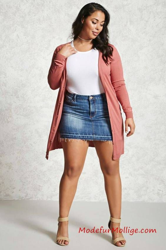 45++ Sommer outfits fuer mollige frauen ideen
