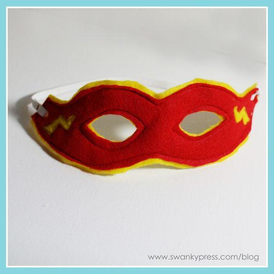 máscara de super herói