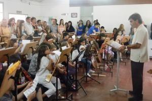 La #UNSJ y la Fundación Orquesta Escuela firman convenio para la ejecución del Sistema Cerón #SanJuan