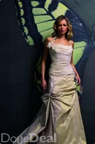 Wedding Dress - Size 8-10 Soft Ivory