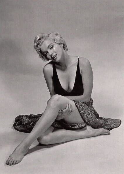 Marilyn Monroe photographed by Philippe Halsman