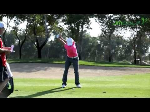 8 Rory Mcilroy Slow Motion Iron Swing Face On Youtube Rory Mcilroy Face Rory